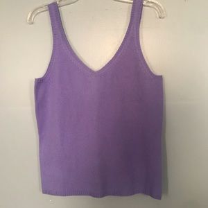 NWT cashmere tank top